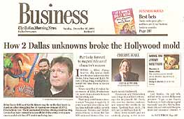 How 2 Dallas unknowns broke the Hollywood mold (page 1)